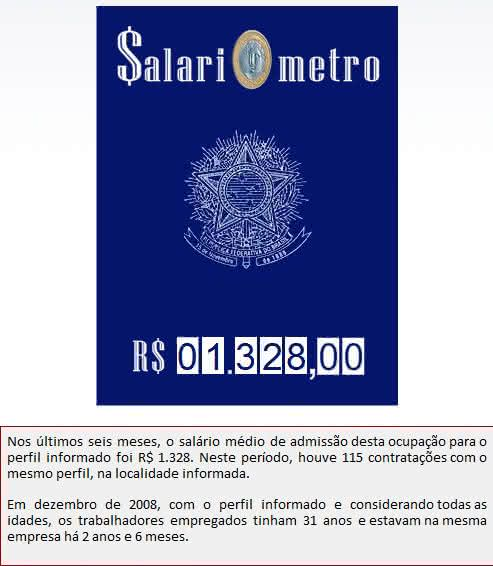 salariômetro que é http://www.salariometro.sp.gov.br